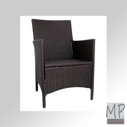 "Polyrattan Sessel ""Knock Down"""